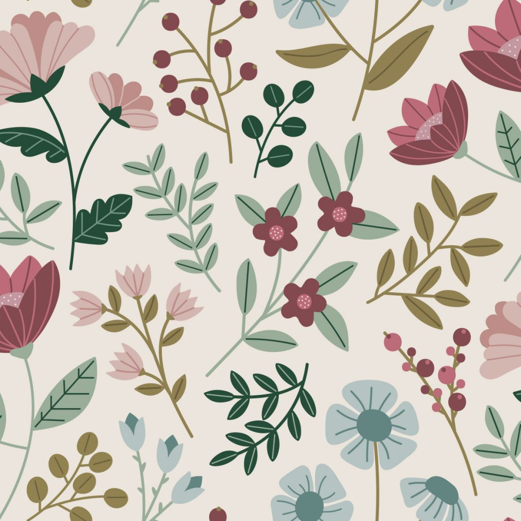 Dusty Spring Floral