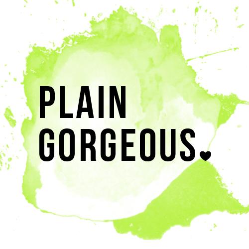 Plain Gorgeous logo design